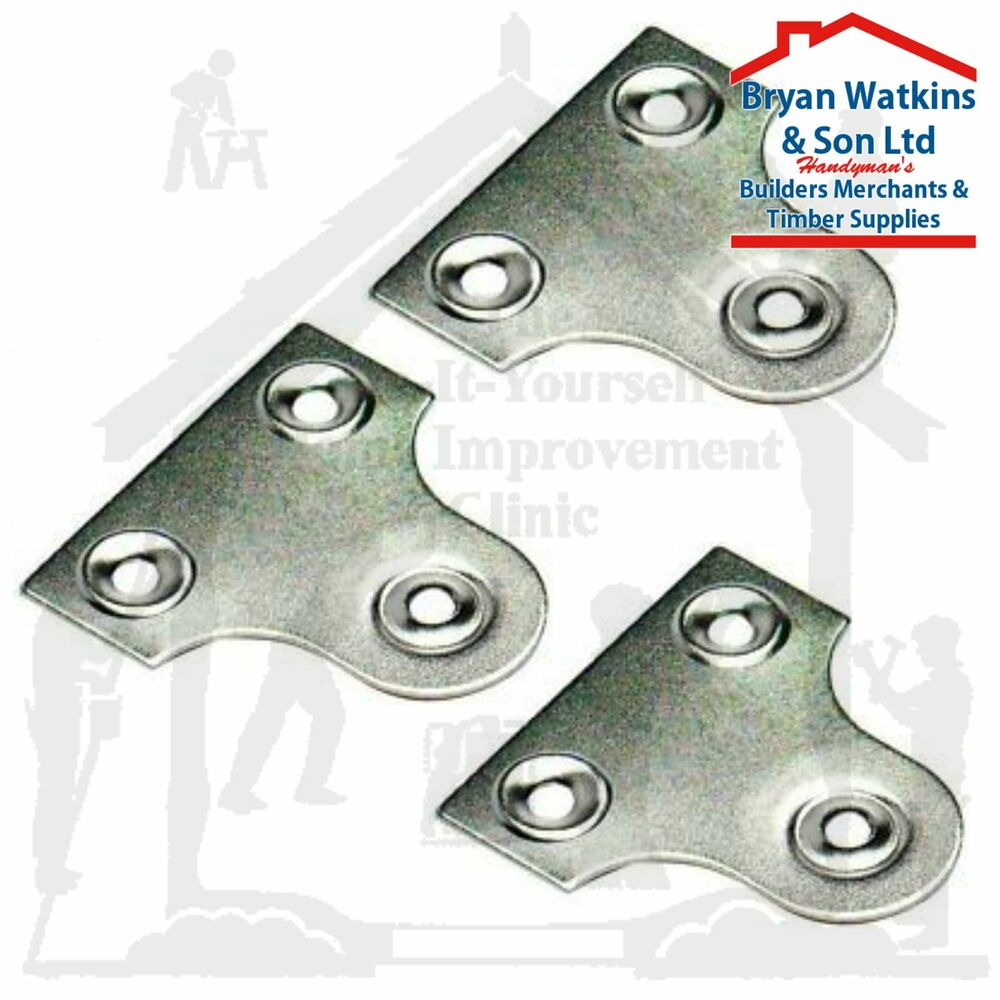 Glass Plate Hanger Chrome Unslotted Glass Mirror Hanging Plate Flat Picture Frame Hanger Bracket Ebay