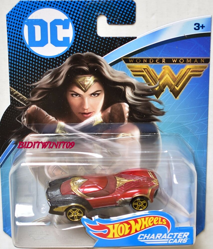 Mercado Librer Hot Wheels 2017 Dc Comics Character Cars Wonder Woman | Ebay