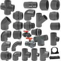 VDL Metric Grey PVC Pressure Pipe and Fittings 50 mm O/D