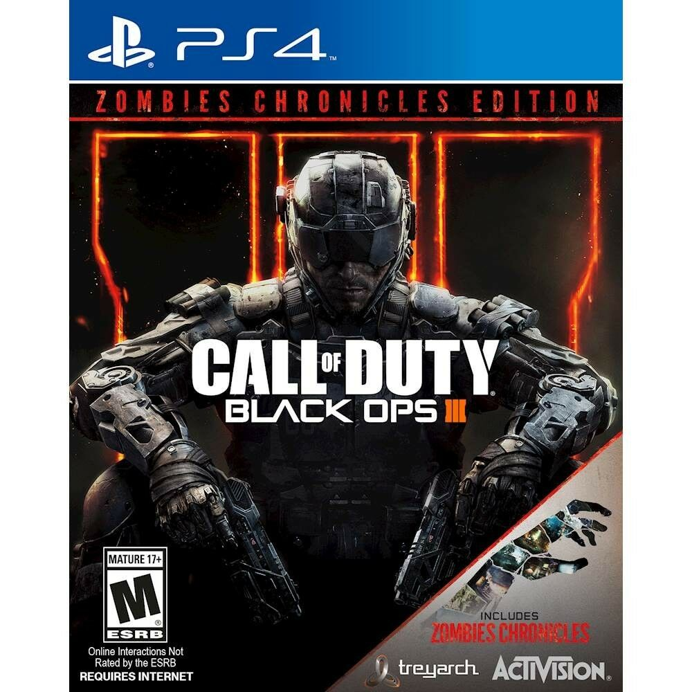 Ps Vita Cod Zombies Call Of Duty Black Ops Iii 3 Zombies Chronicles Edition Sony Playstation 4 47875881181 Ebay