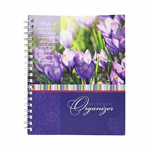 Monthly Bill Organizer Budget Book Home Journal Expense Tracker