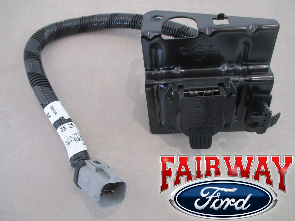 02 thru 04 F-250 F-350 Super Duty Ford 4  7 Pin Trailer Tow Wiring