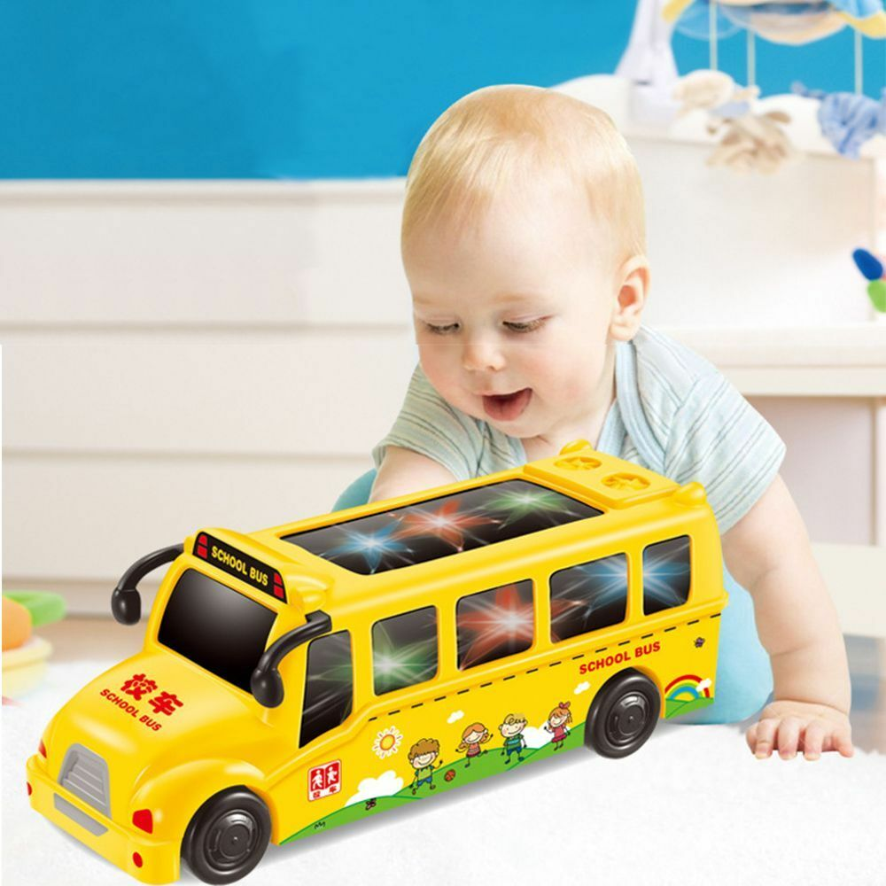 Baby Teller Random Color Early Education Baby Toy Led Music Car Story Teller Pretend Play Ebay