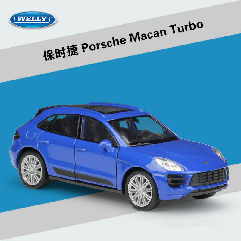 Welly 136 Porsche Macan Turbo Diecast Model Car Toy New in Box 3