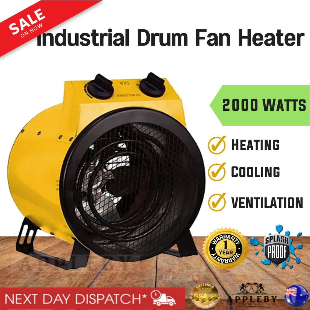 Garage Carpet Australia Electric Industrial Fan Heater Floor Carpet Dryer Blower Shed Workshop Garage 712376256843 Ebay