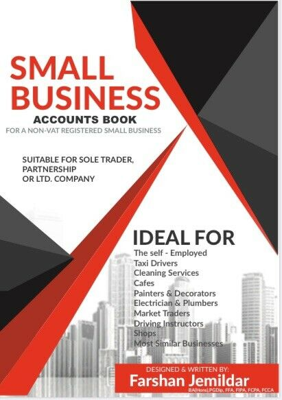 Small Business, BOOK KEEPING LEDGER, Cash Book - Accounts