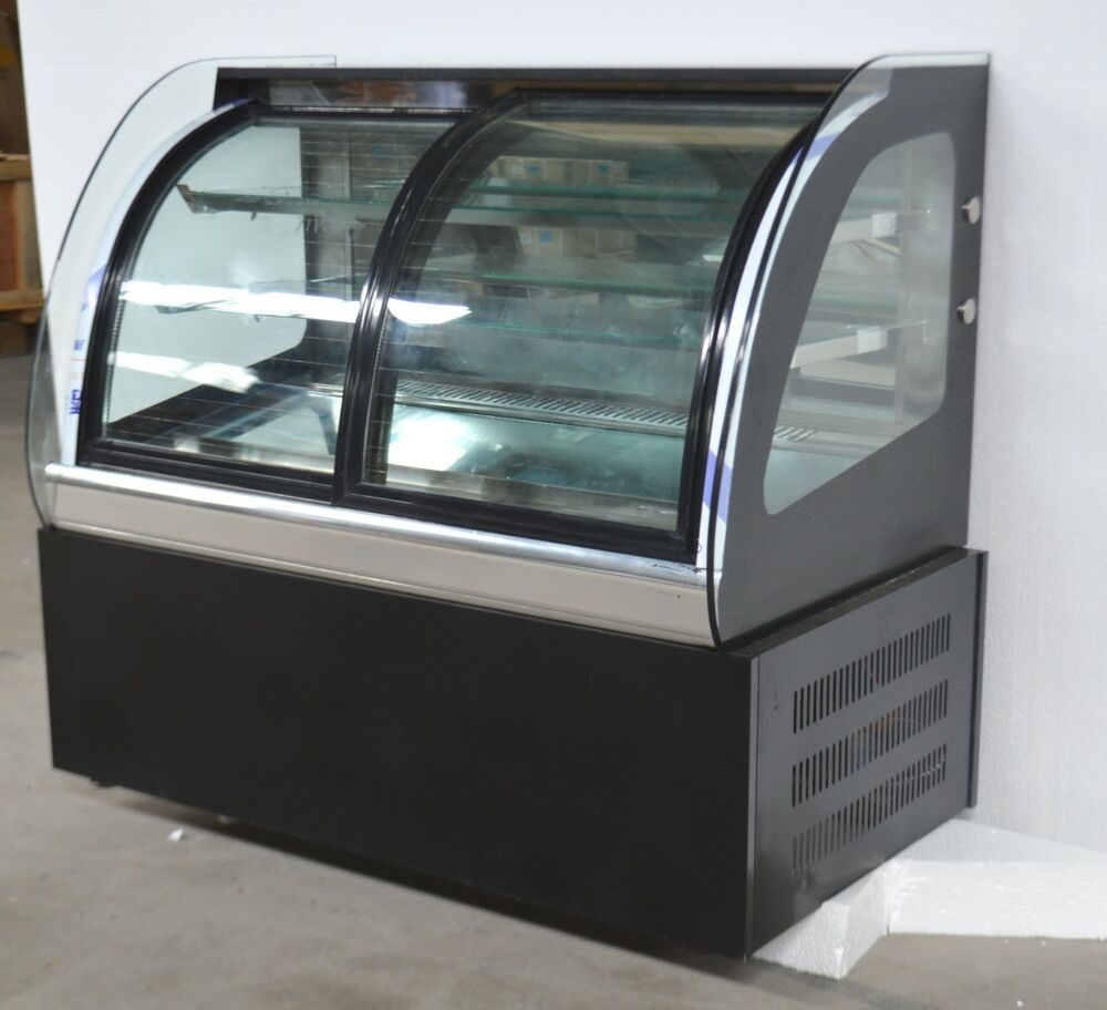 Bakery Display Cabinet Open Box Commercial Countertop Refrigerated Cake Bakery Display