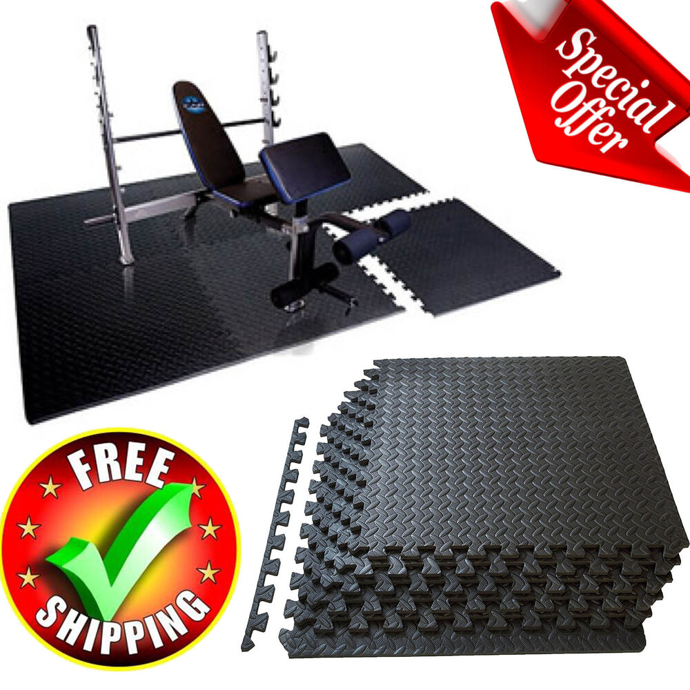 Gym Mat Flooring Exercise Gym Floor Mat Flooring Fitness Home Foam Tiles Puzzle Workout Equipment 726858925875 Ebay