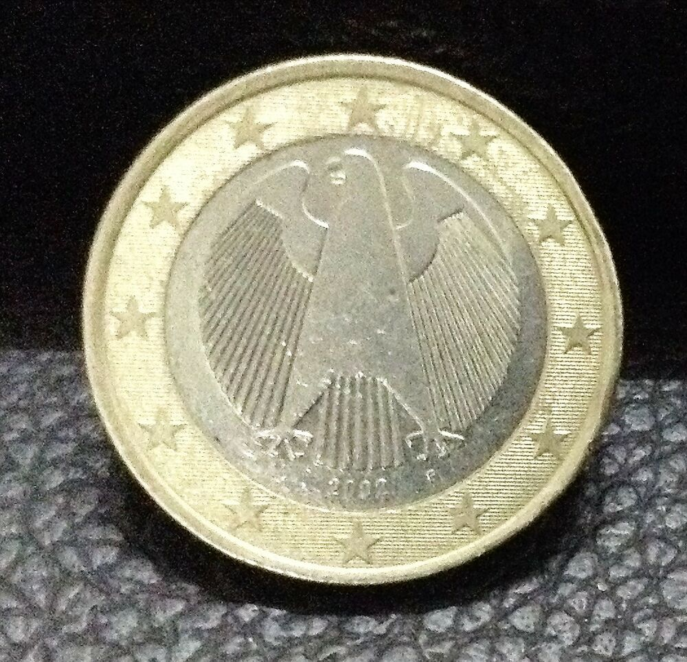 Ebay 1 Euro 1 Euro Coin 2002 Germany Coat Of Arms German Eagle Ebay