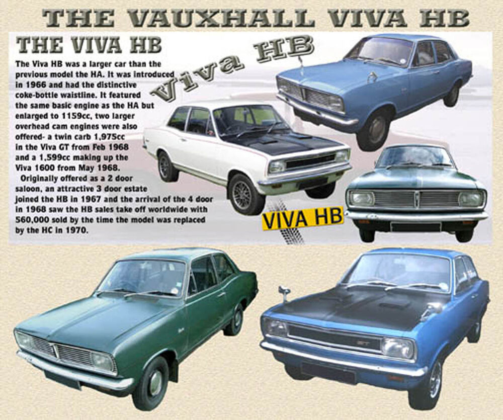 Viva Garage Floor Mats Vauxhall Viva Hb Classic Car Mouse Mat Limited Edition Ebay