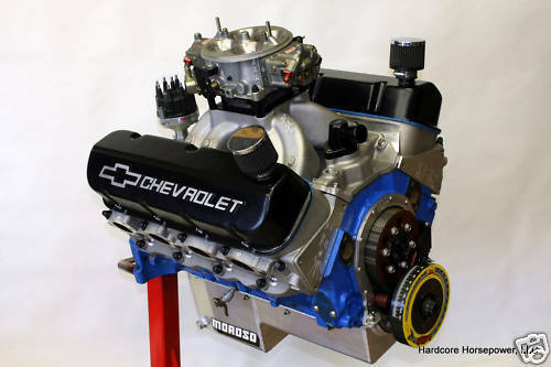 496ci Big Block Chevy Pro-Street Engine 700hp+ Built-To-Order Dyno - copy blueprint engines black friday