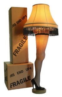 Full Size 50 Inch Leg Lamp from A Christmas Story   eBay