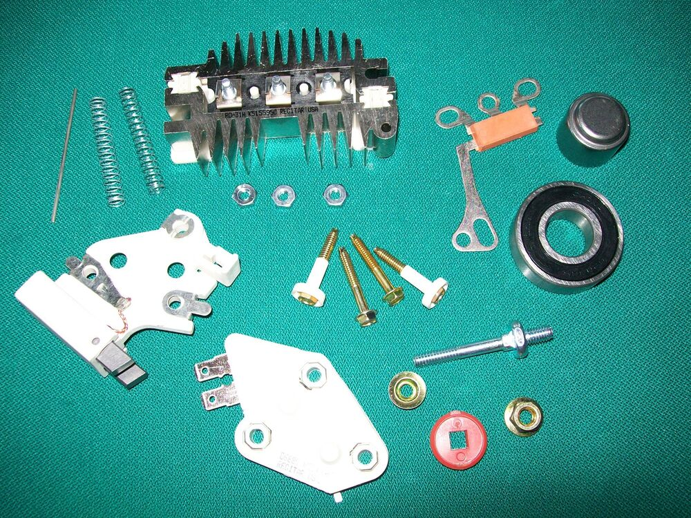 10si Wiring Diagram 15si Delco Alternator Repair Rebuild Kit 70 105 Amp