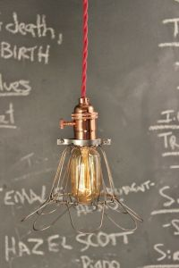 Industrial Lighting - Vintage Copper Pendant Lamp ...