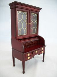 George Washington Desk dollhouse furniture wood T3474 1/12 ...