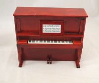 Upright Piano w/ Bench D7081 miniature dollhouse furniture ...