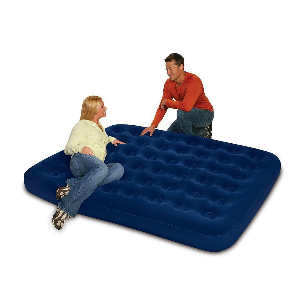 Comfy Air Mattress Northwest Territory Queen Size Airbed Air Mattress Bed Indoor Outdoor New 821808117314 Ebay