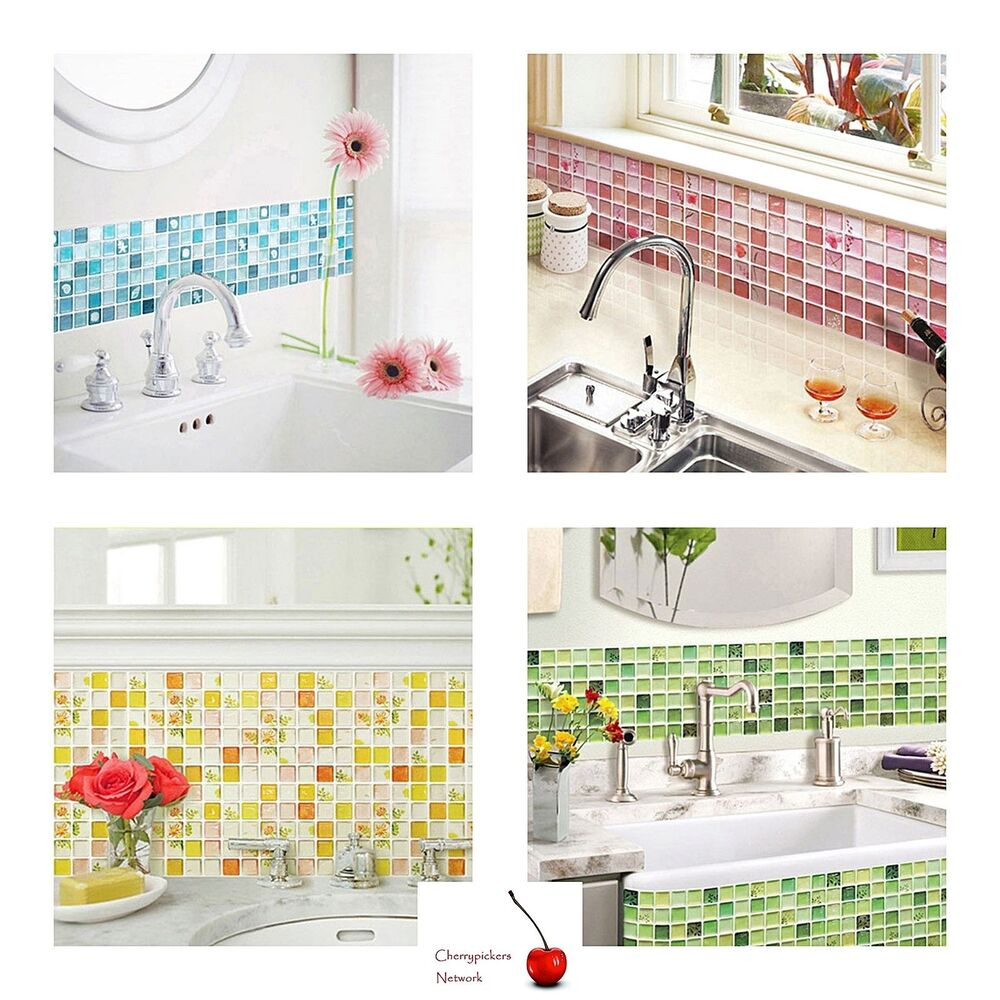 3d Peel And Stick Brick Wallpaper Home Bathroom Kitchen 3d Wall Decor Sticker Wallpaper Tile