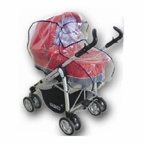 Hauck Shopper Raincover Universal Baby Pram Carry Cot Bassinet Rain Cover Ebay