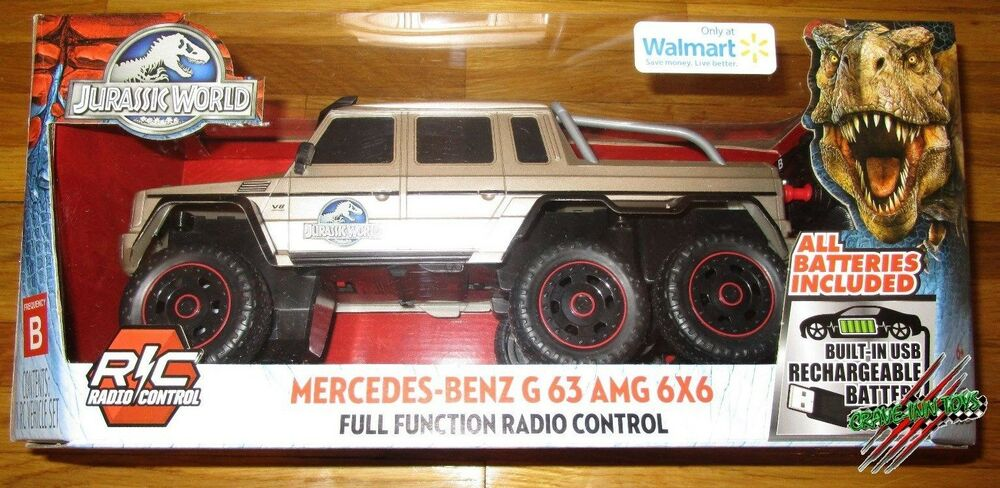 Off Road Buggy Toy Jurassic World Remote Control Mercedes Benz G 63 Amg 6x6 1