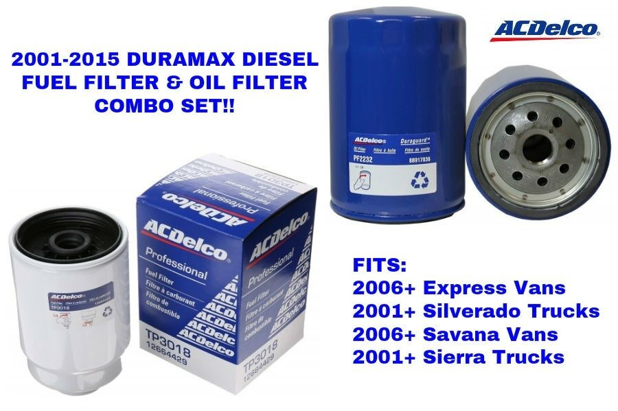2015 duramax fuel filter