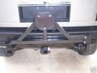 Tire Rack Carrier with drop down option for Hummer H2 | eBay