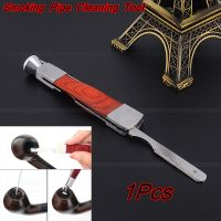 3in1 Smoking Red Wood+Stainless Steel Tobacco Pipe ...