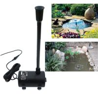 Solar Power Submersible Fountain Pump Garden Decor Pond