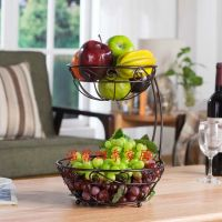 Kitchen Fruit Rack Basket Holder Vegetable Stand Display ...