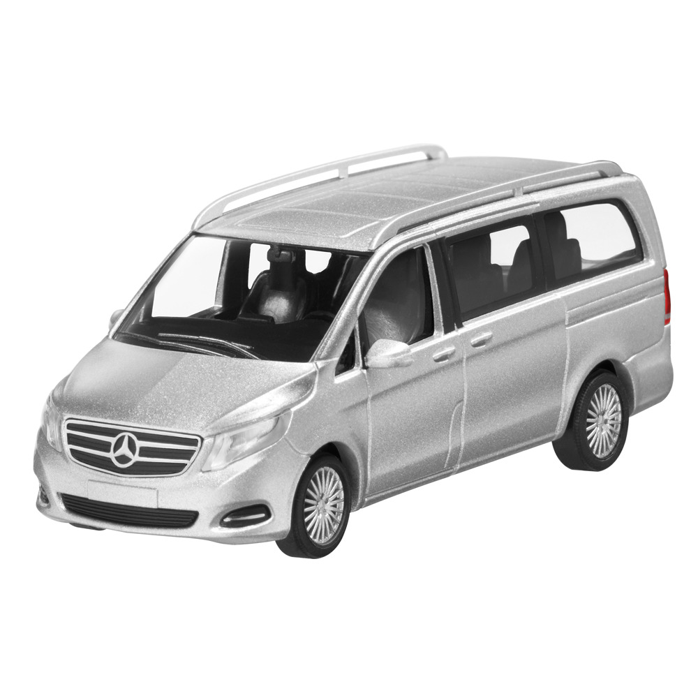 Mercedes Neuf Vito Mercedes Benz W 447 Classe V 2014 Argent Brillant 1 87 Neuf Emballage Scellé Ebay