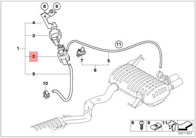 bmw e65 Motor diagram
