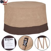 "48"" Large Waterproof Outdoor Patio Round Table Cover ..."