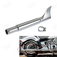 For Custom Harley Bikes 45mm Slip-on Universal Fishtail ...