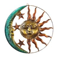 Sun and Moon Metal Wall Art, by Collections Etc | eBay