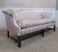 SOUTHWOOD FURNITURE CAMEL BACK SOFA HUMP BACK, CARVED ...