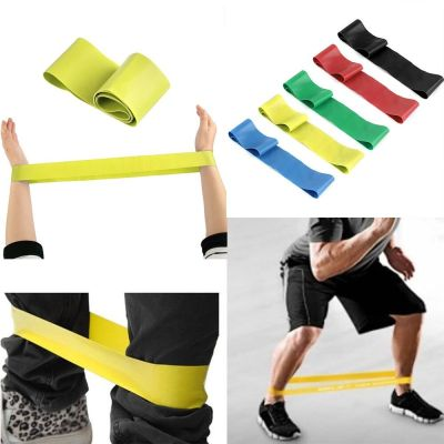 Sport Resistance Loop Band Exercise Yoga Bands Rubber ...