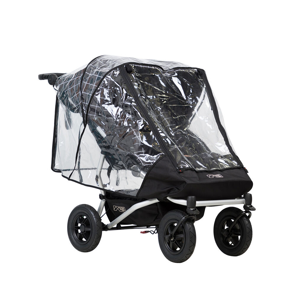 Mountain Buggy Ebay Habillage Pluie Poussette Double Mountain Buggy Duet V3 Ebay