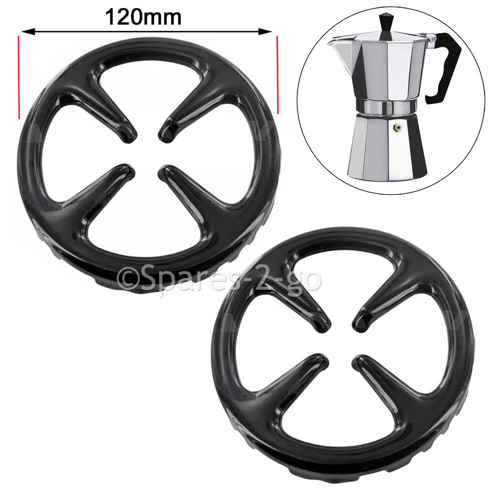 Cucina Gas Piccola Small Gas Cooker Hob Stove Reducer Coffee Moka Trivet Pot Pan Stand 120mm X 2 Ebay