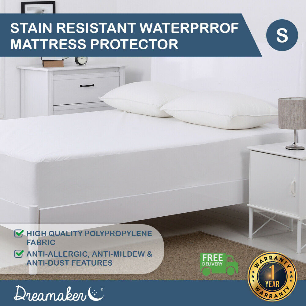Doona Protector Dreamaker All Size Fully Fitted Waterproof Mattress Pillow