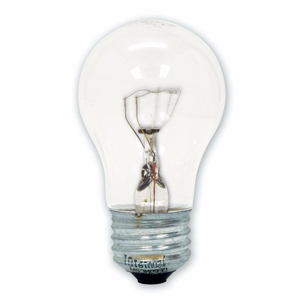 40 Watt In Lumen Ge Specialty Appliance 40 Watt 415 Lumen A15 Appliance Light Bulbs Ebay