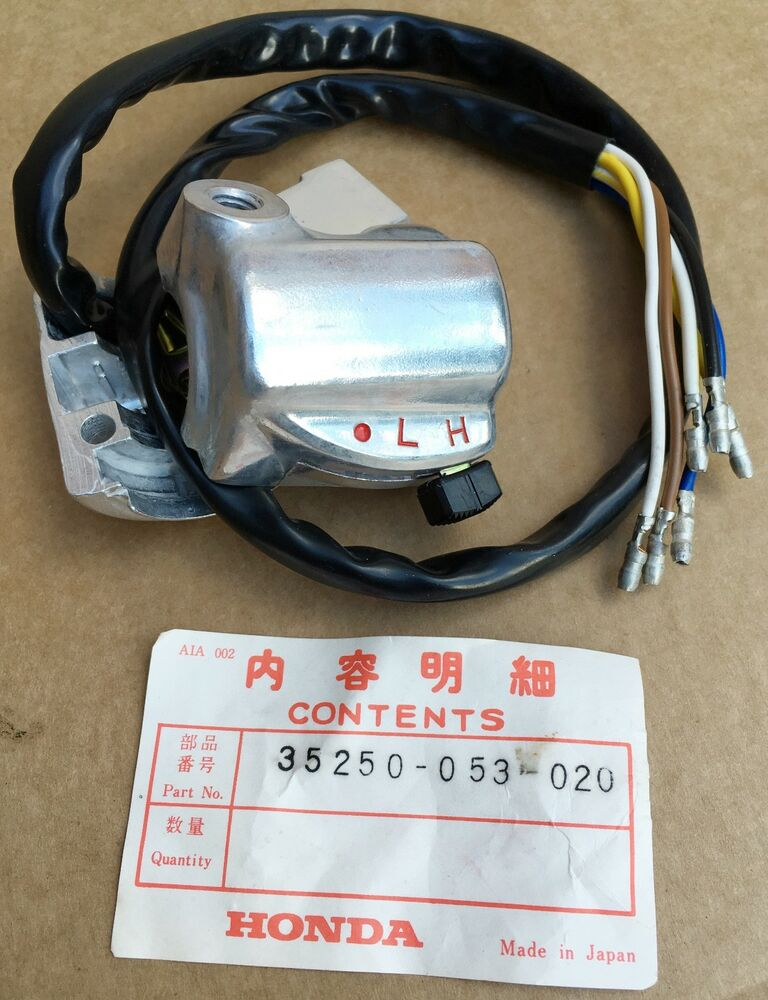 NOS Honda Light Dimmer Switchgear Honda CL70 K0  CT90 K0 - K1