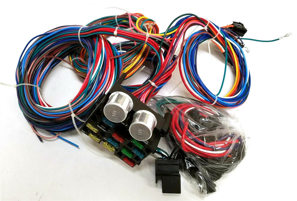 1947 - 1954 Chevy Pickup Truck 12 Circuit Wiring Harness Wire Kit
