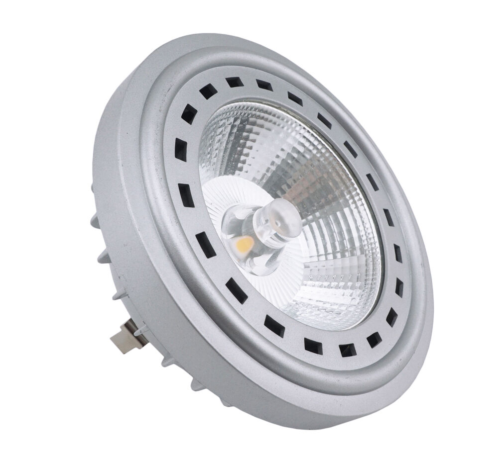 Led G53 Led Ar111 G53 Base Spotlight Bulb 12w With Cree Cob Chip 75w Halogen Replacement Ebay