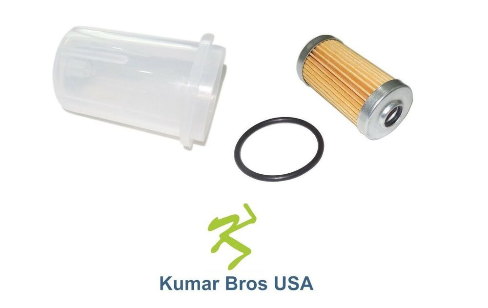 New Yanmar Fuel Filter with O-ring  BOWL 2T72HLE 2T75HLE 3T72HLE
