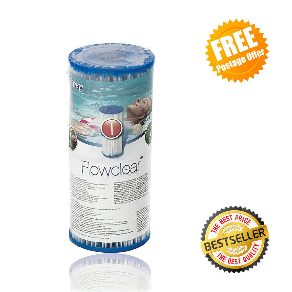Swimming Pool Filter Pump Price Bestway Filter Cartridges Size 1 330 Gal Hour Swimming Pool Filter Pump Ebay