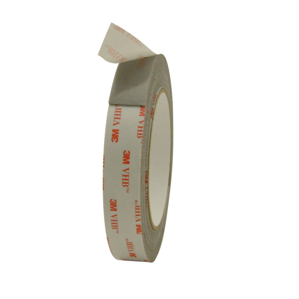 3m Vhb Tape Canada 3m Scotch Rp45 Vhb Tape 3 4 In X 15 Ft Grey 683615781870 Ebay