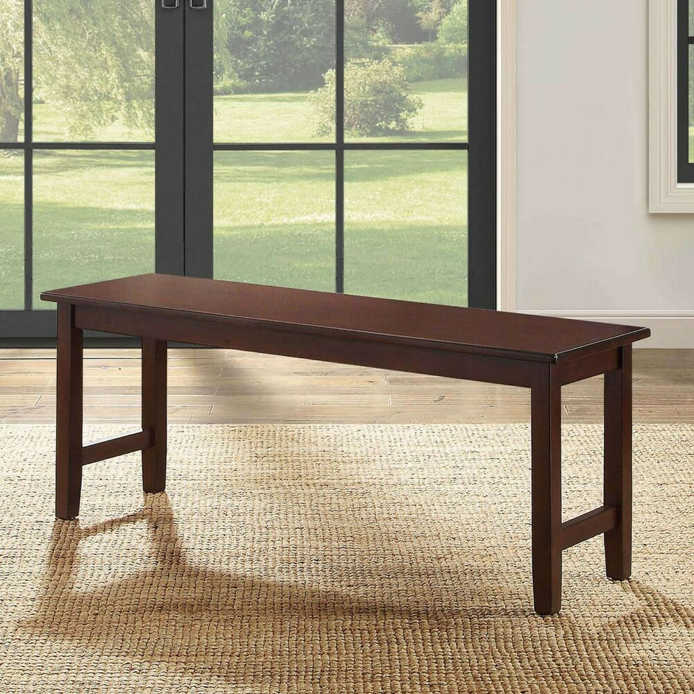 Wooden Bench Table Dining Room Table Bench Seat Kitchen Tables Breakfast Nook Seating Wood Benches 764053479465 Ebay