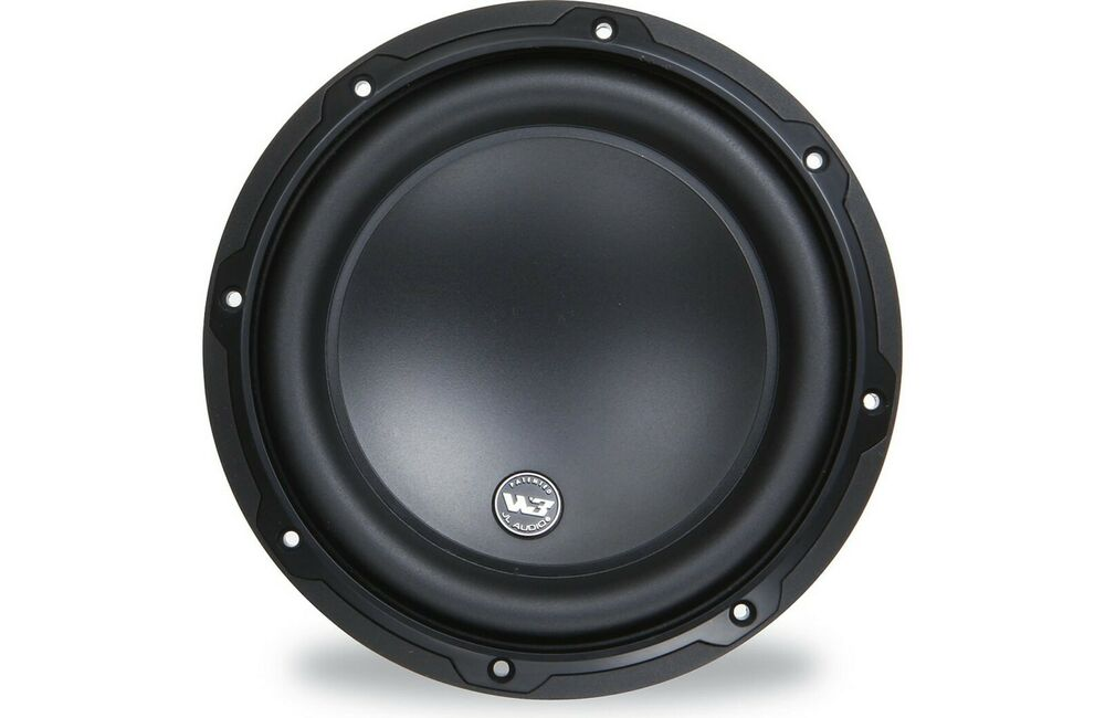 500 Watt New Jl Audio 8w3v3 4 Subwoofer 8 Svc 4 Ohm 500 Watt Sub Woofer One Each Ebay