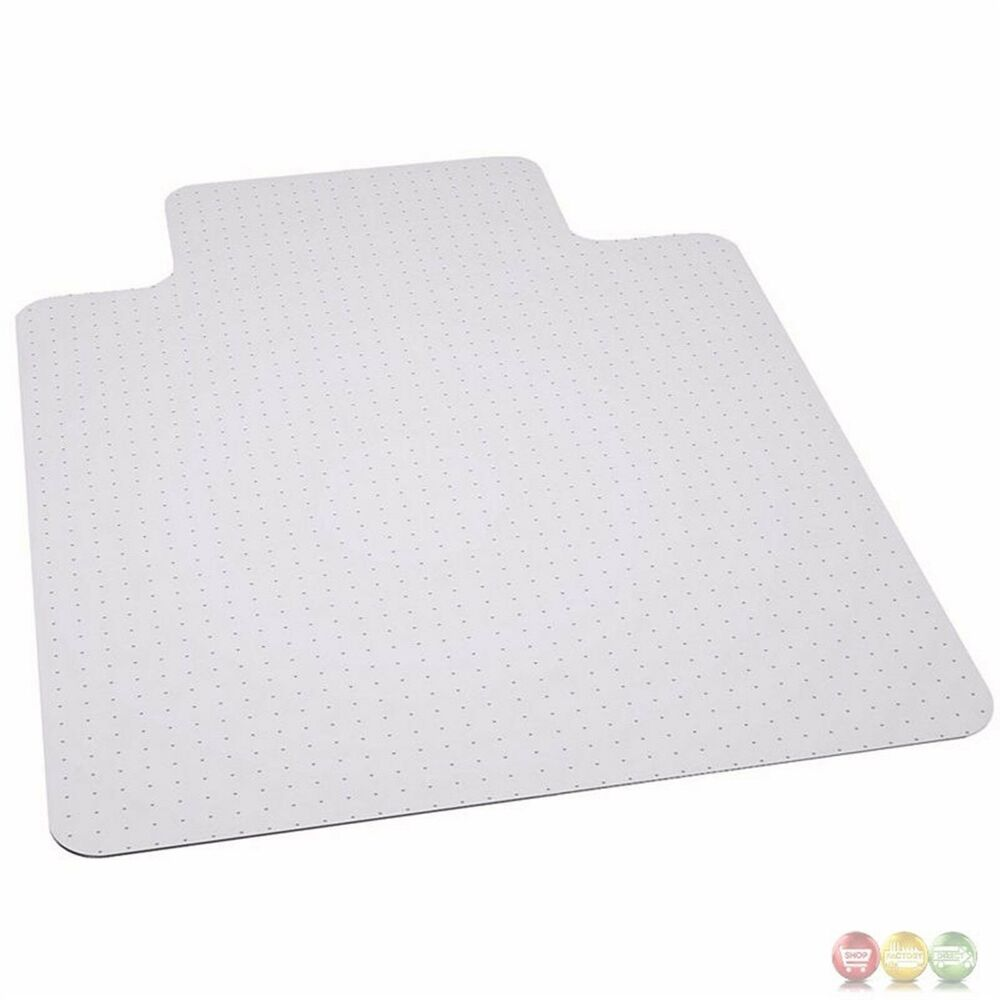 Big W Floor Mat 45 X 53 Big Tall 400 Lb Capacity Carpet Protective Chair Floor Mat W Lip Ebay