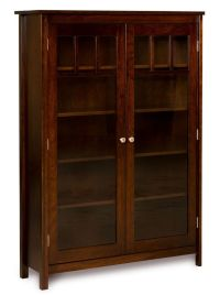 Amish Bookshelf Bookcase Solid Wood Wooden Furniture ...
